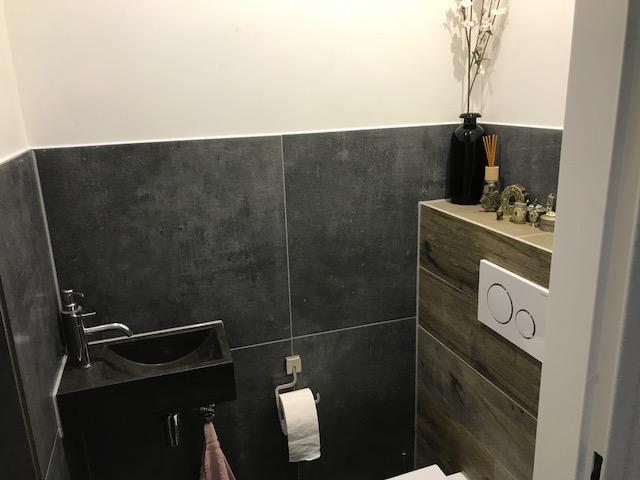Badkamer En Toilet : Verbouwing van badkamer en toilet in gorichem h v d burg